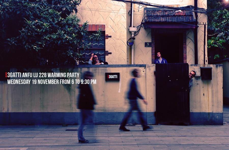 3GATTI anfu lu 228 new office warming party